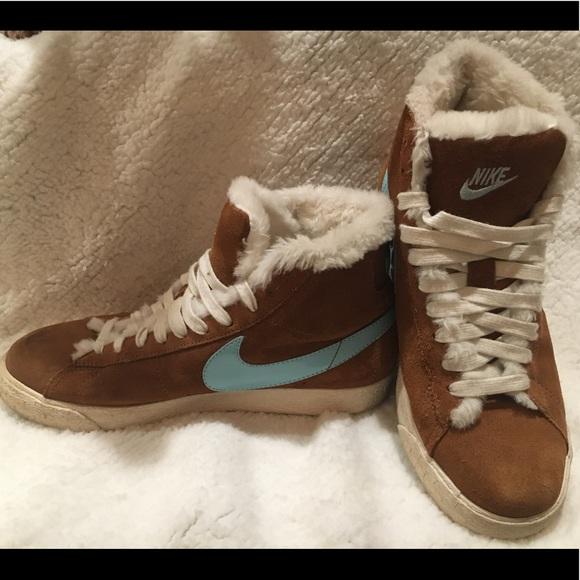 Nike Shoes | Nike Fur Shoes | Poshmark